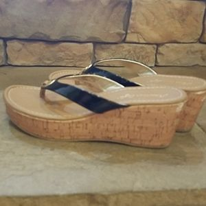 American Eagle Outfitters Shoes - American eagle, thong wedges